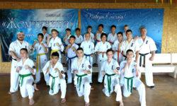 Летняя школа каратэ на Капчагае