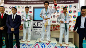 Чемпионат г.Алматы по «Fullcontact karate»