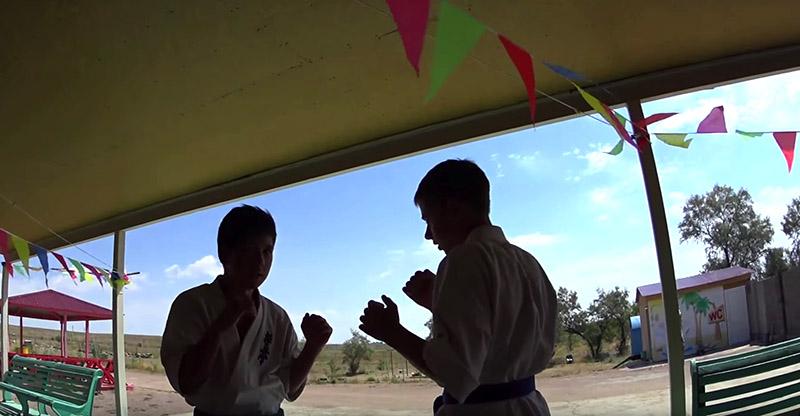 Летний лагерь Киокушинкай каратэ
