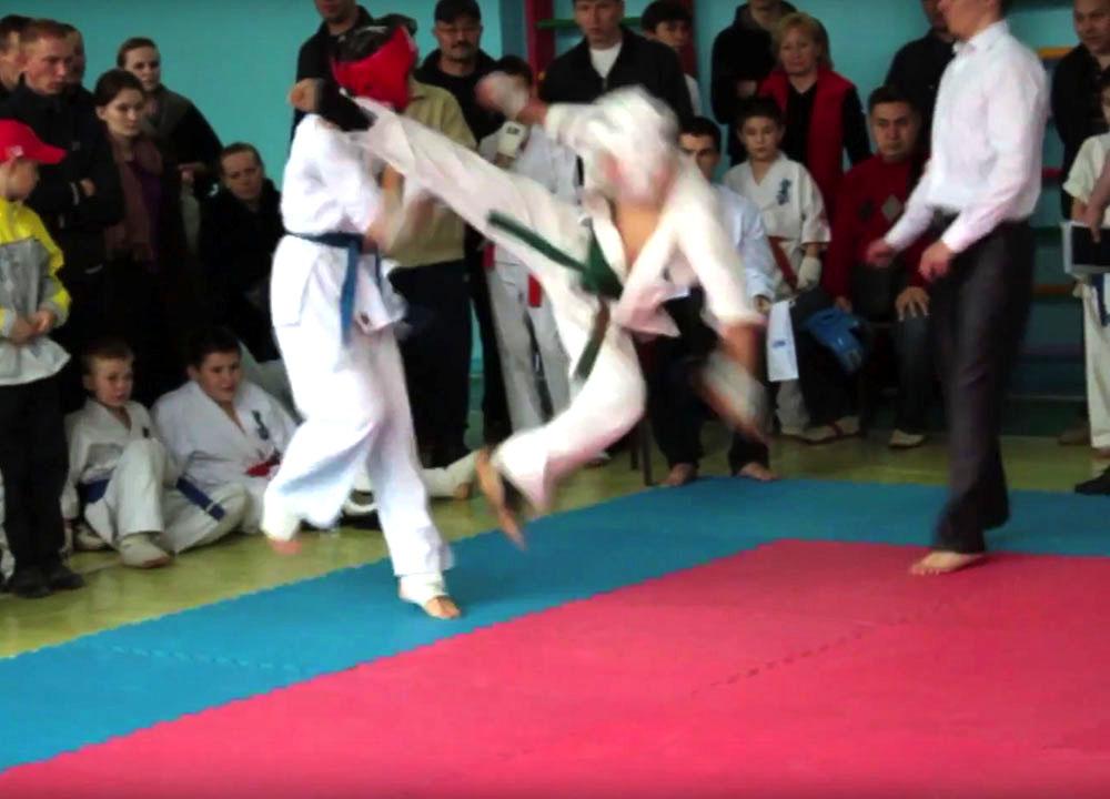 турнир Национальная Академия Кекусинкай Каратэ