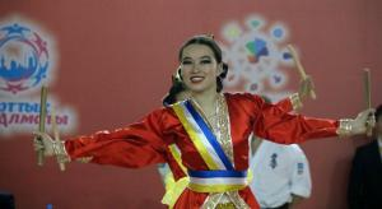 Девушка фестиваль восточных единоборств